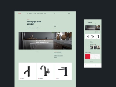TAP concept colors web agency website ui typography grid design