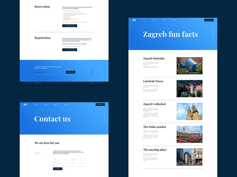 JCI - more layouts