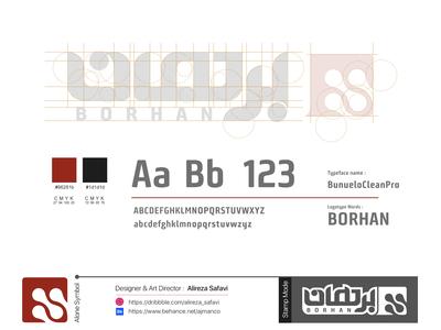 Borhan Logo Design guidelines