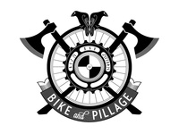 Bike And Pillage Crest