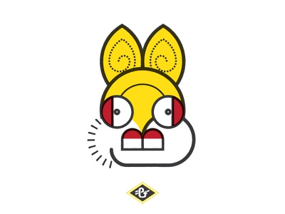Ometochtli: Aztec God of Pulque & Drinking design grey jay equal and opposite illustration ometochtli rabbit golden ratio sacred geometry alcohol pulque aztec golden circles religion god hare mexico mezcal maguey phi tequila bunny drunkeness
