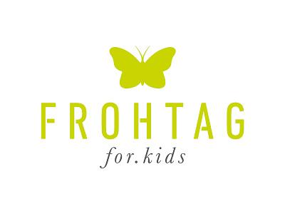 FROHTAG - Onlineshop typography design branding logo
