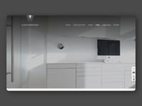 ALAVI&MORTAZAVI - Webdesign for Dentists mobile web icon concept webdesign ui corporate design