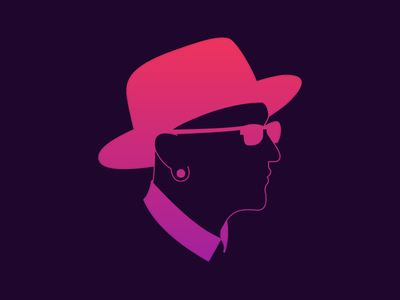 Chester Bennington pink purple tribute memorial portrait vector park linkin bennington chester
