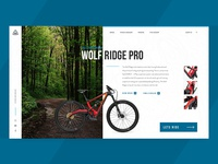 Marin Bikes Product Page Exploration