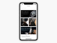 Luxury Watch Store Concept pt.2