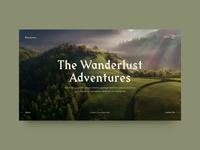 Adobe XD Playoff: Website Concept