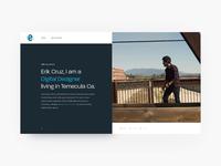 Personal Portfolio - Take One  🎬