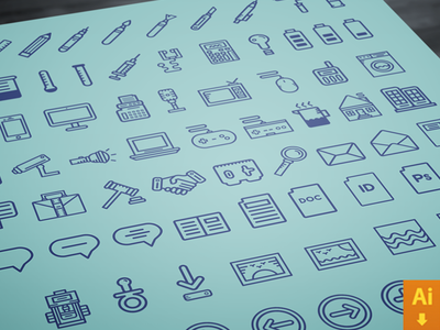 70 Icons Giveaway (FREE Download)