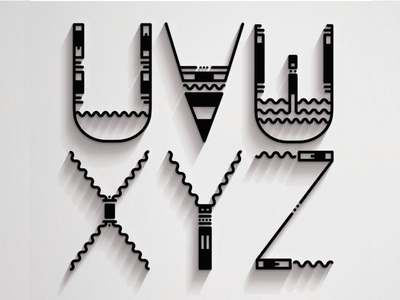 Typeface // Letters // Bold
