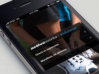 Mobile Check In App - for Endurance