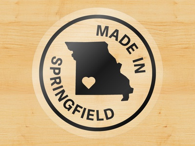 Made In Springfield Sticker