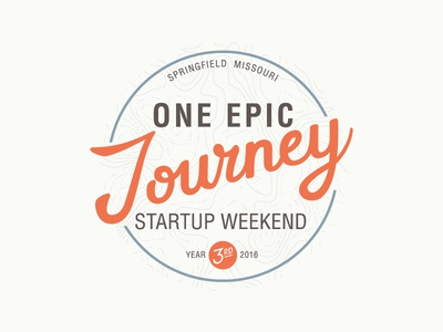 One Epic Journey - Startup Weekend 2016