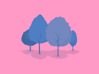 Trees trees tree dhnn design illustration