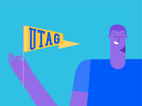 UTAG Friends Illustrations