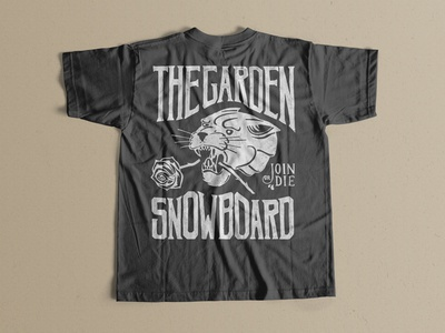 The Garden Snowboard Tee