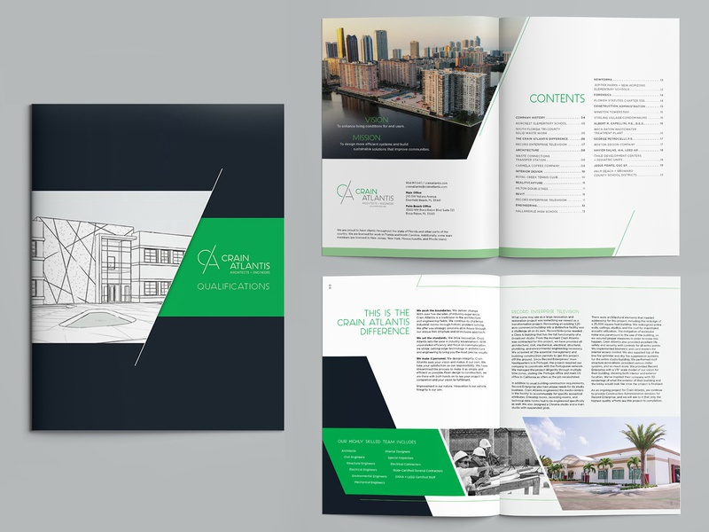 Architect + Engineer brochure branding graphicdesign art direction brochure engineering architecture