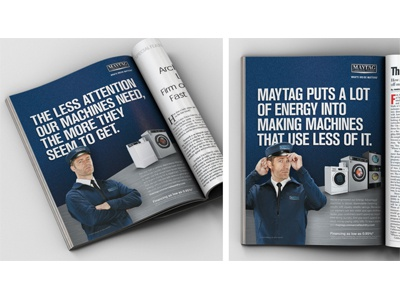Maytag Commercial Laundry 2015 ad campaign