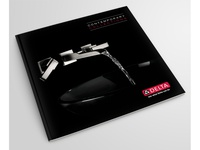 Delta Faucet Modern Products Brochure products modern layout graphic design delta faucet brochure