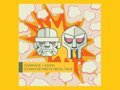 No.6 CZARFACE + DOOM - CZARFACE MEETS METAL FACE