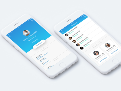 Profile ux ui doctor profile