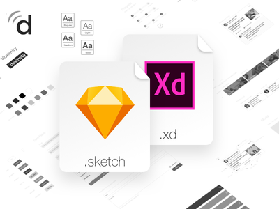 Style Guide Components adobe ui ux xd sketch components style guide