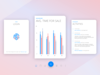Mobile Dashboard Cards