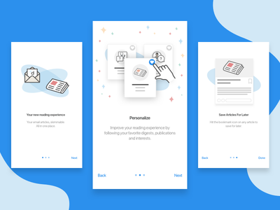 Onboarding News doctor medical mobile design onboarding daily ui ux ui news