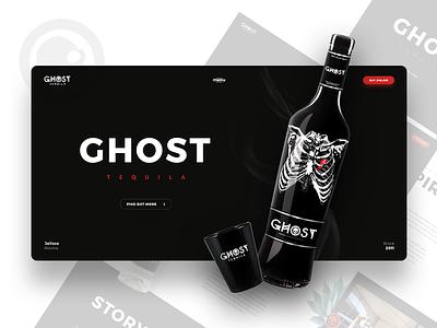 Ghost Tequila webdesign webdevelopers designers website design proposal