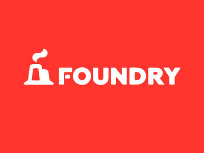 Foundry foundry logo concept idea share create work coworking