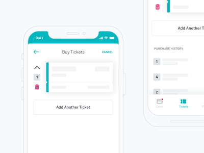 Buy Tickets cart train bus rider mobility ticket transit