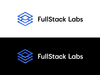 The New FSL Logo stack square logo design logotype logo