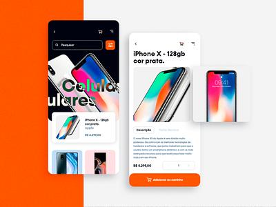 Shopping app prototype mobile app interface uidesign ui  ux app design app mobile design