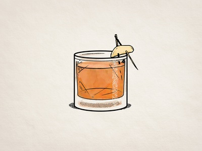Cocktail illustration