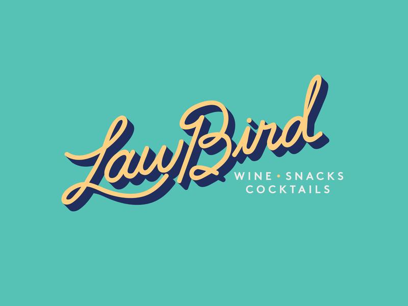 LawBird handlettering adobe typography design branding