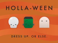 Holla-ween Invite