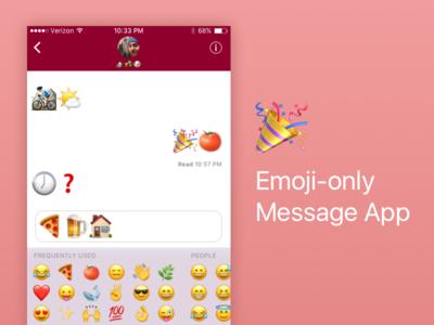 Daily UI #013 emoji app emoji messenger app ui daily ui