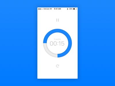 Daily UI #014 timer countdown app ui daily ui