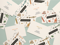 Serenade Business Cards