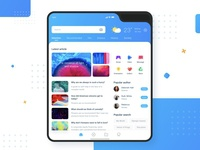 Foldable Phone Event App