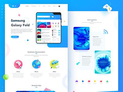 Interface design illustration dashboard blue app design ui interface
