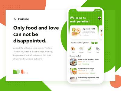 Gourmet APP food typography branding logo dashboard 应用 design chat、ui ui