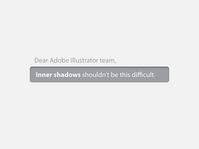 Illustrator Inner shadows