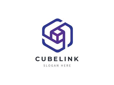 Cube Link Logo