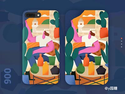 Comfortable design poster illustration/ui illustration