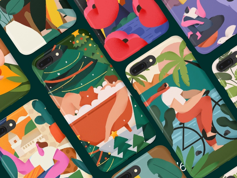 The character illustrates design illustration/ui illustration