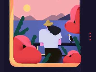 Practice poster design illustration/ui illustration