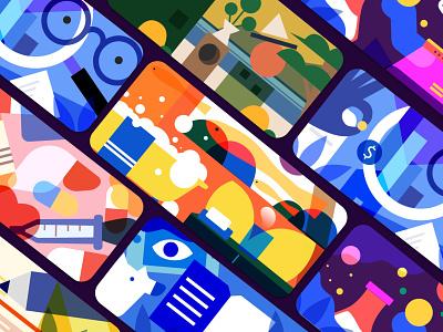 Background chart branding illustrations/ui typography poster illustration/ui illustration