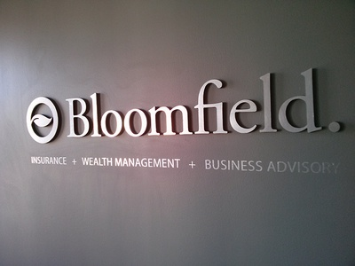 Bloomfield Office Sign