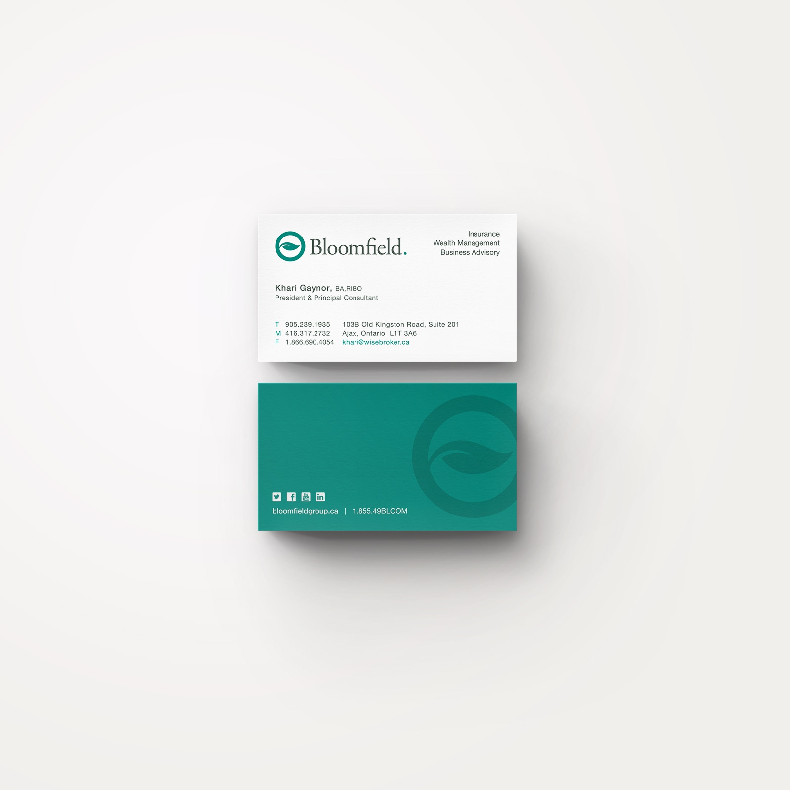 Dribbble - dribbble-bloomfield-business-cards-large.jpg by Kevin ...